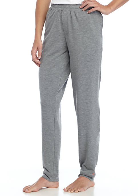 HUE® Solid Cuffed Pant with Pockets