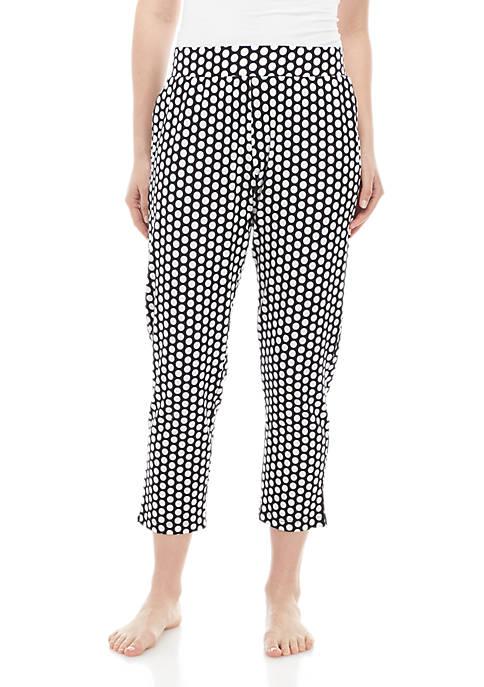 HUE® Polka Dot Skimmer Sleep Pants