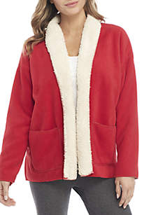 Sherpa Lined Cozy Robe