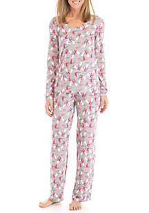 2-Piece Copy Cat Pajama Set