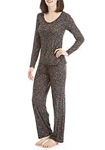 2-Piece Tree Hugger Pajama Set