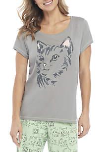 Short Sleeve Purroud Cat Tee