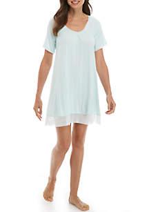 Short Sleeve SleepWell Gown