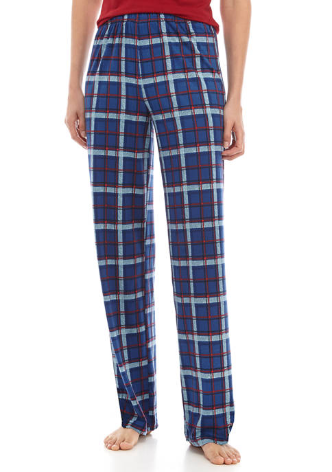 HUE® Womens Plaid Sleep Pants