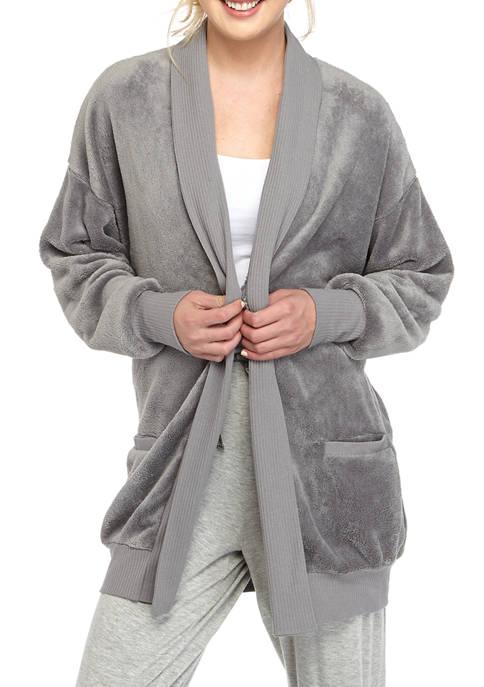 HUE® Cozy Wrap Lotus Robe