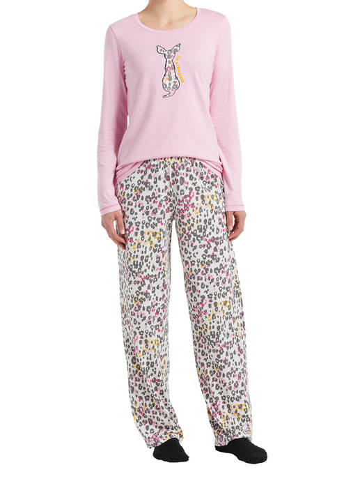 HUE® Rare Breed Pajama Set with Socks