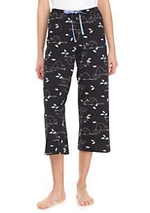 HUE® Cat Nap Capri Pants