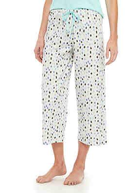 5598a62948 HUE® Teardrop Pajama Capris ...