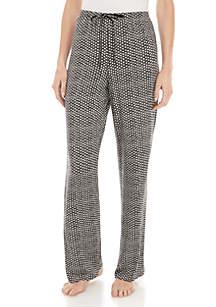 HUE® Lunar Dot Pajama Pants