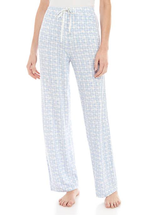 Hazy Geo Pajama Pants