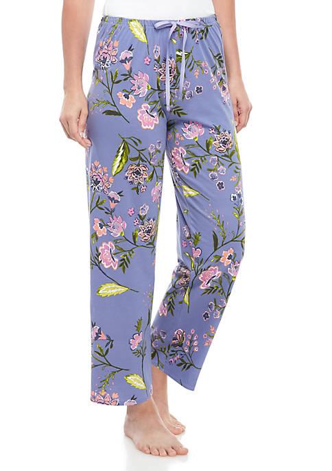 Floral Pajama Pants