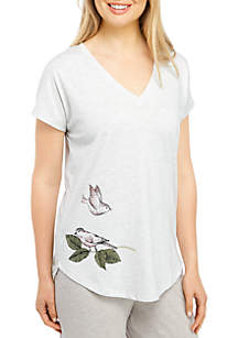 HUE® Fly Away Birdy Sleep T Shirt