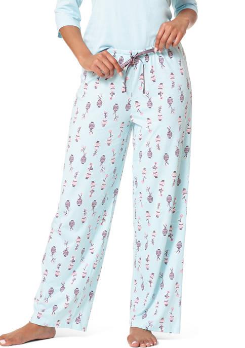 HUE® Flower Vase Classic PJ Pants