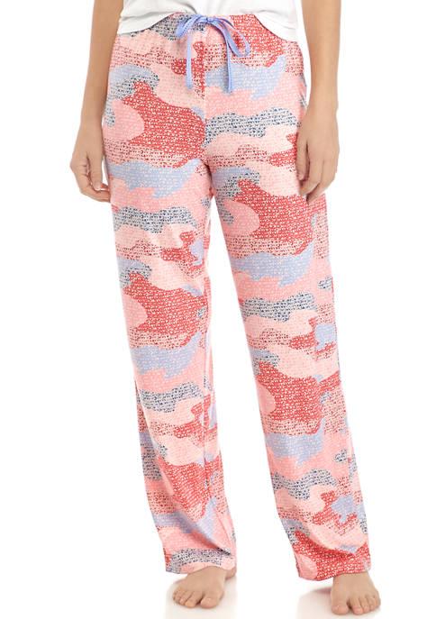 HUE® Camouflage XO Pajama Pants