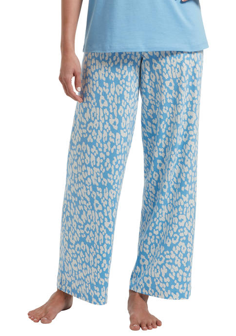 HUE® Womens Animal Shadow Pajama Pants