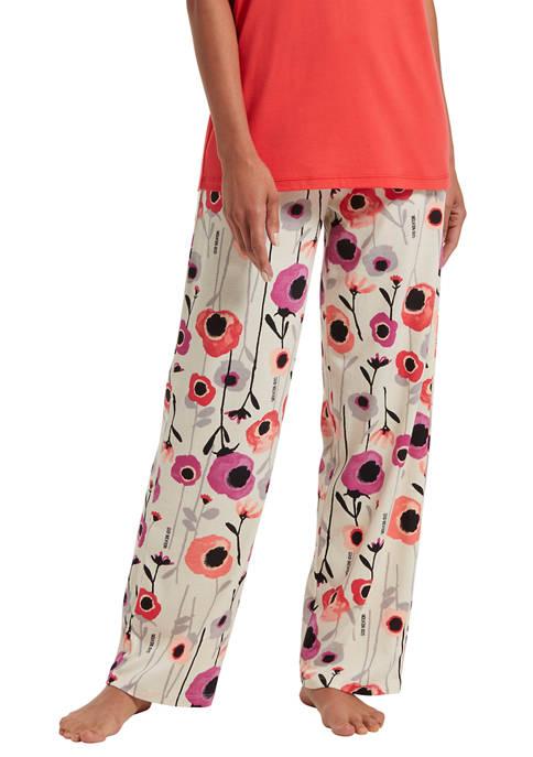 HUE® Magical Floral Capri Pants