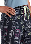 Drink Them Up Bermuda Pajama Shorts