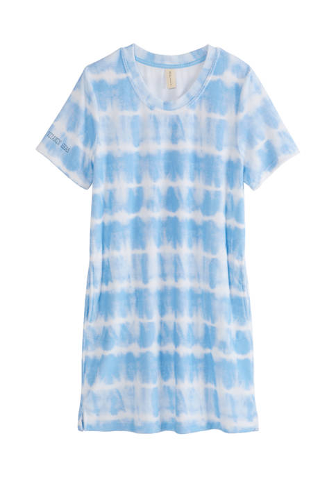 HUE® Terry Tie Dye Sleep Shirt