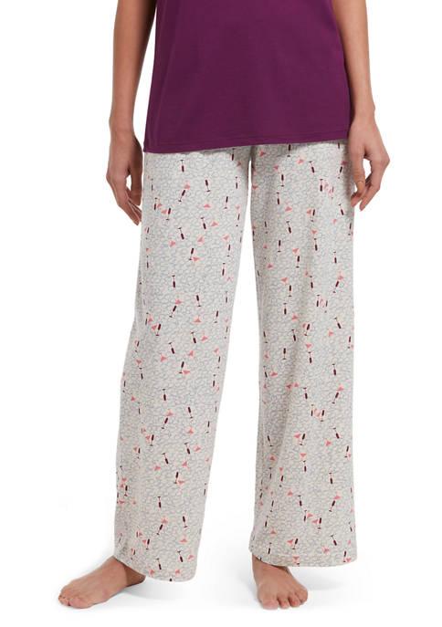 HUE® Have A Sip Pajama Pants