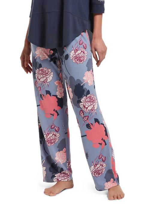 HUE® Garden Floral Pajama Pants