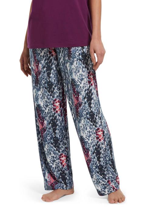 HUE® Sassy Snake Print Pajama Pants