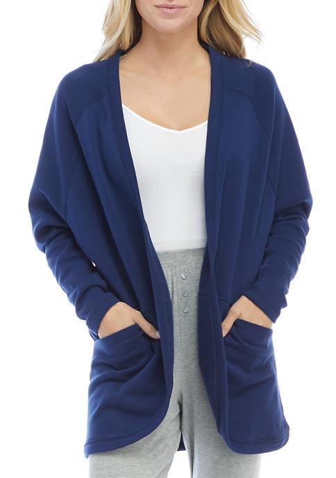HUE® Solid Baby Terry Pajama Bed Jacket