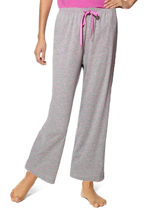 HUE® Mini Scribble Pajama Pants