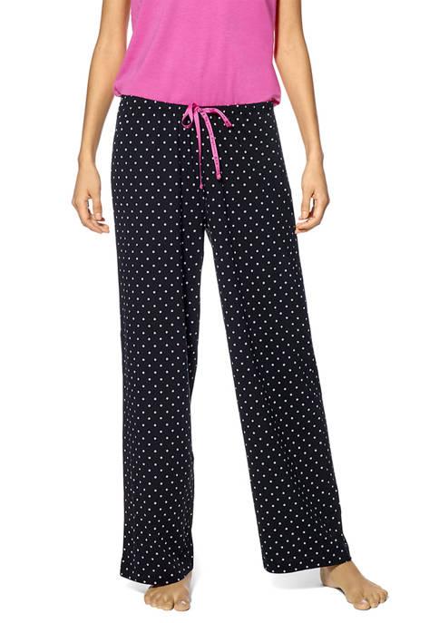 HUE® Dotty Square Pajama Pants