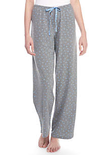 HUE® Heart Printed Pajama Pants