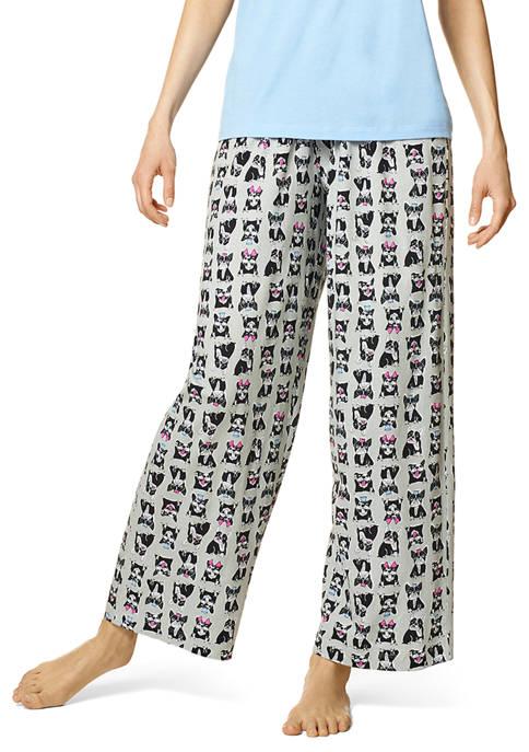 HUE® Frenchies Pajama Pants