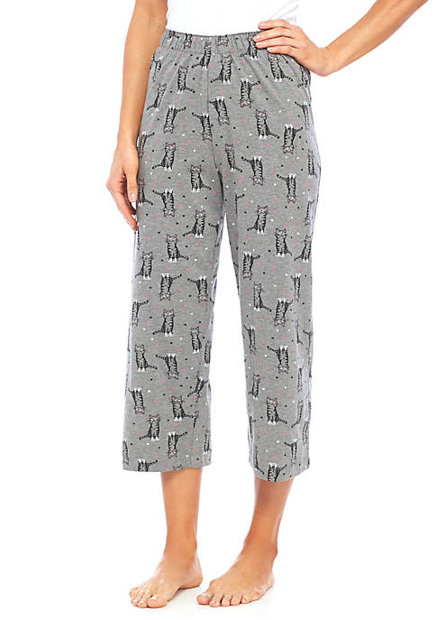 HUE® Sweet Kitty Capri
