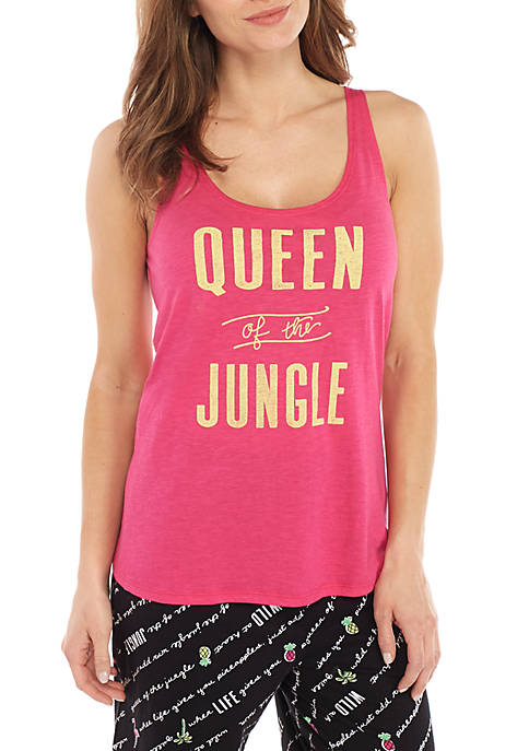 HUE® Queen Of Jungle Tank