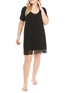 HUE® Plus Size Sleepwell Nightgown