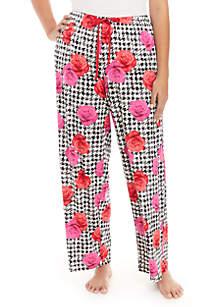 Plus Size Rose Pizzazz Pants