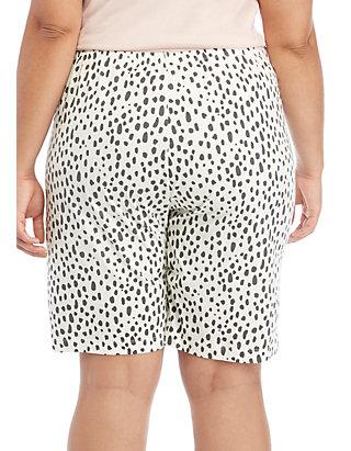 0e0b504e8a HUE® Plus Size Animal Pop Bermuda Pajama Shorts   belk