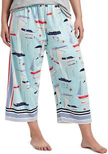 HUE® Plus Size Capri Pants