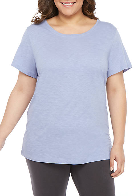 Plus Size Sleep T Shirt With Back Detail