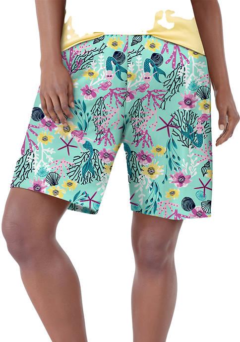 HUE® Plus Size Sea Life Classic Pajama Bermuda