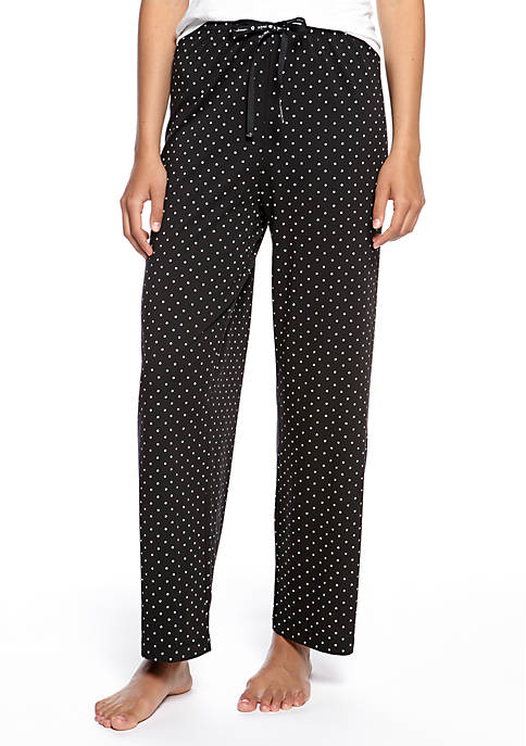 HUE® Plus Size Rio Dots Long Pajama Pants