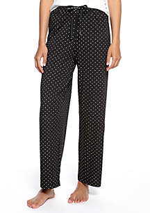 HUE® Plus Size Rio Dots Long Pajama Pants