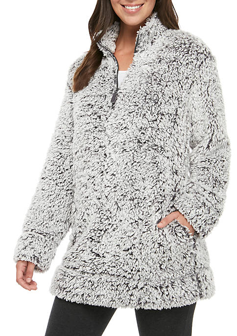 Frosted Sherpa Half Zip
