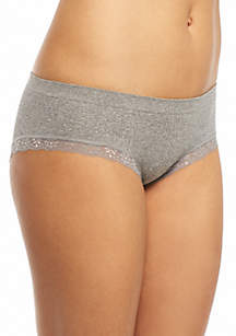 Lace Trim Seamless Hipster - H153288