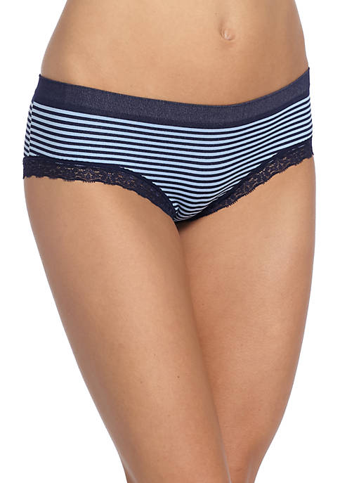 New Directions® Lace Trim Seamless Hipster