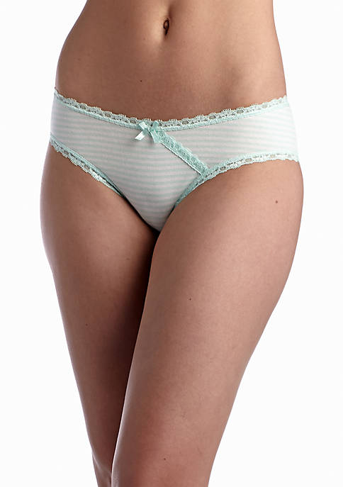 Cross Over Lace Cotton Hipster- L90015