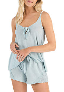 Honeydew Intimates Casual Cutie Pajama Shortie Set