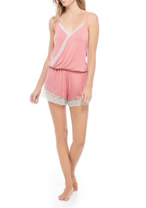 Honeydew Intimates Back To Bed Romper