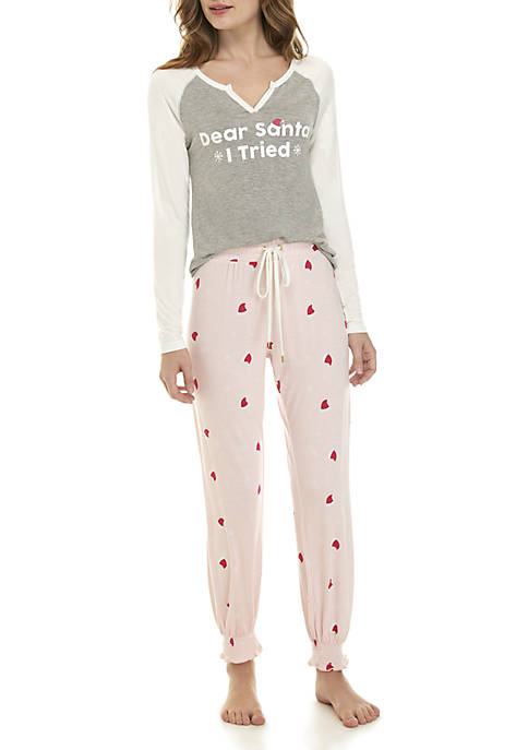 Honeydew Intimates 2-Piece Winter Break Pajama Set