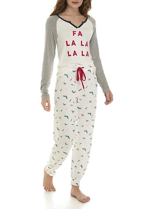 Honeydew Intimates 2-Piece Winter Break Pajama Set