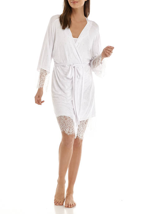 Honeydew Intimates Lovely Day Lace Robe