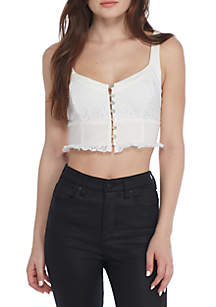 Free People Here I Go Bralette Top